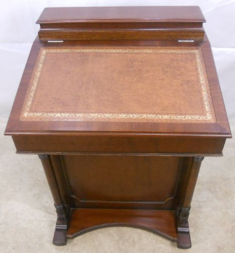 Antique Style Mahogany Davenport Ladies Writing Desk - SOLD